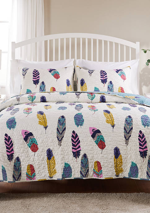 Greenland Home Fashions Dream Catcher Quilt and Pillow