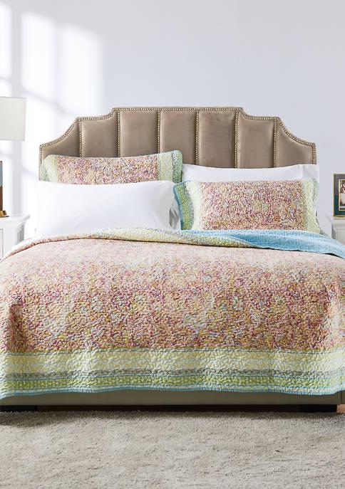 Barefoot Bungalow Palisades Quilt and Pillow Sham Set