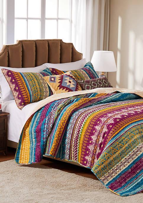Southwest Quilt and Pillow Sham Set