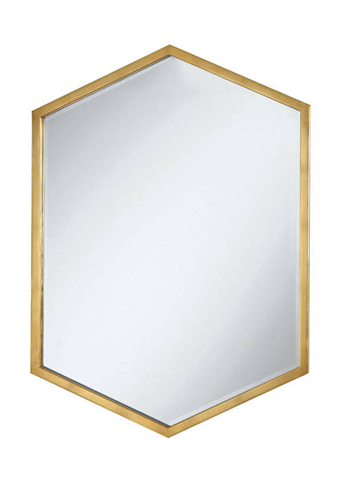Coaster Home Furnishings Coloma Hexagon Shaped Wall Mirror