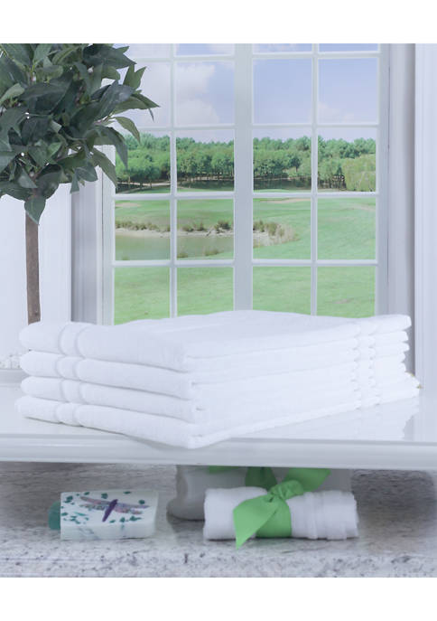 Enova Pure Green Textiles Set of 4 Hospitality