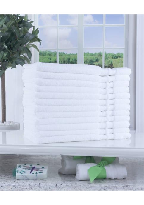 Hospitality 12 Piece Hand Towels
