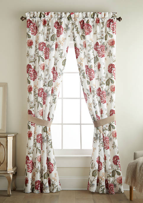 Croscill Fleur Curtain Panel Pair