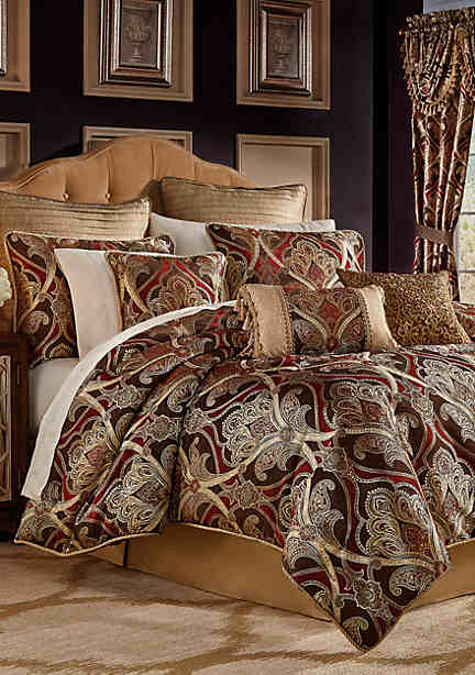 ensembles drapes idea charn bedroom fresco your croscill charnming curtains galleria covering king comforter with from matching set bedding sets for ming on queen