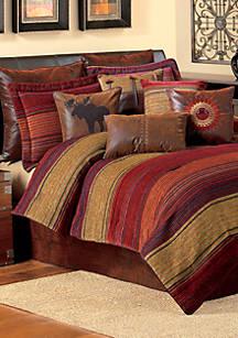 Croscill Plateau Multicolored King Comforter Set 110 In X 96