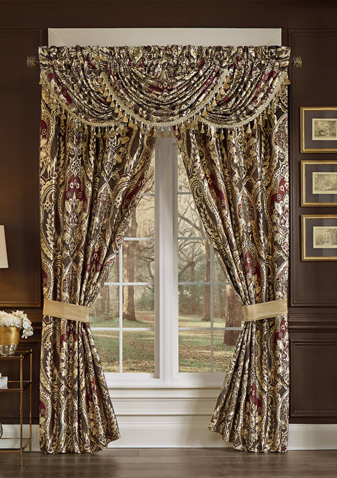 Croscill 82 Inch x 84 Inch Julius Curtain