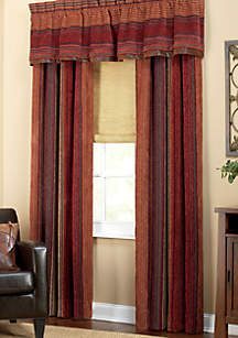 Plateau Multicolored Pole Top Drapery Pair 41-in. x 84-in.