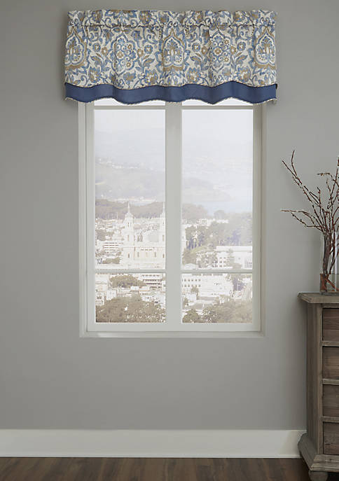 Janine Layered Scallop Valance