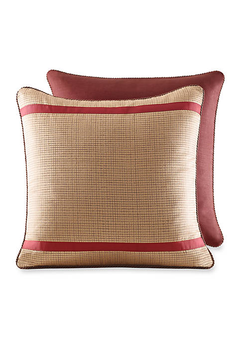 Croscill Pondera Multicolored Euro Sham 26-in. x 26-in.