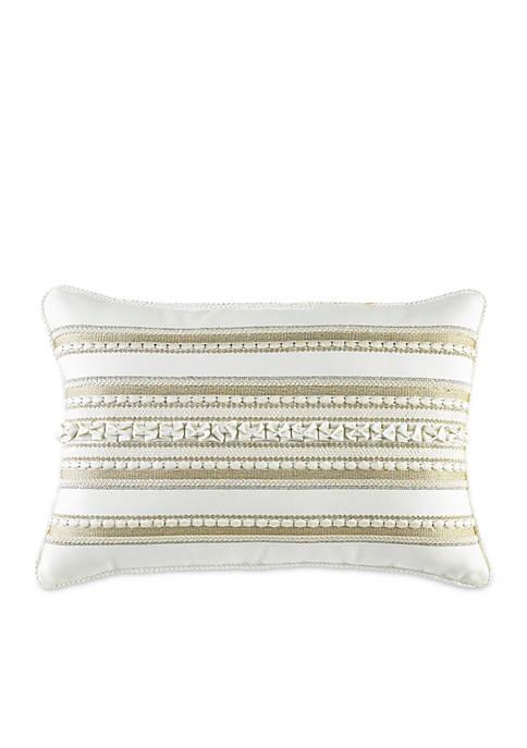 Croscill Devon Fashion Boudoir Pillow