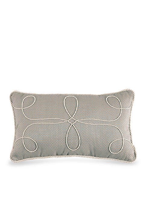 Gavin Embroidered Boudoir Decorative Pillow