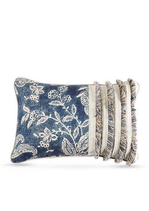 Croscill Gavin Printed Boudoir Decorative Pillow