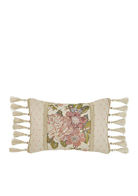 Croscill Carlotta Boudoir Throw Pillow