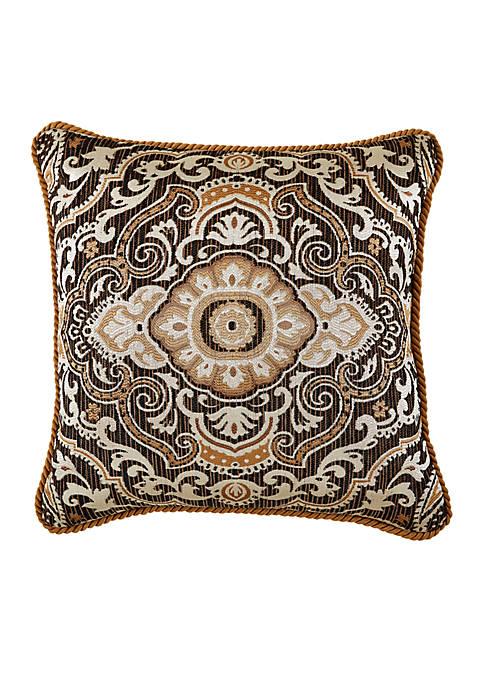 Croscill Philomena Square Throw Pillow
