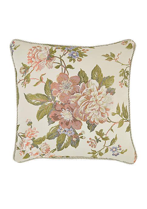 Croscill Carlotta Square Throw Pillow