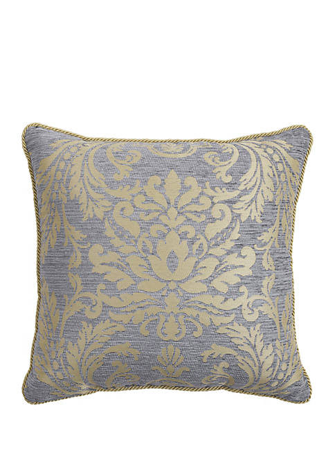 Croscill Nadia Damask Throw Pillow