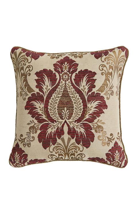 Croscill Esmeralda Square Pillow