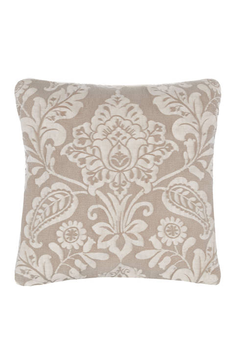 Croscill Grace Square Pillow