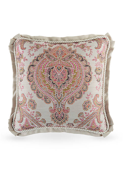 Croscill Giulietta Square Decorative Pillow