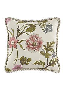 Daphne Reversible Square Decorative Pillow