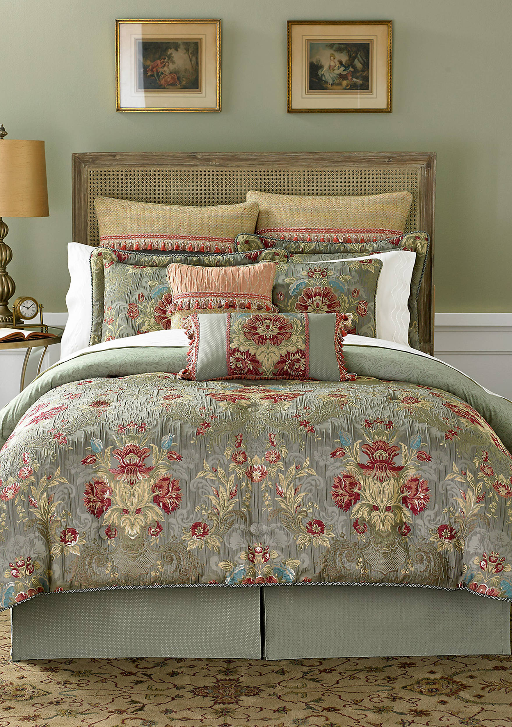bedding product kassandra dabf bath sets overstock croscill shipping free comforter today set