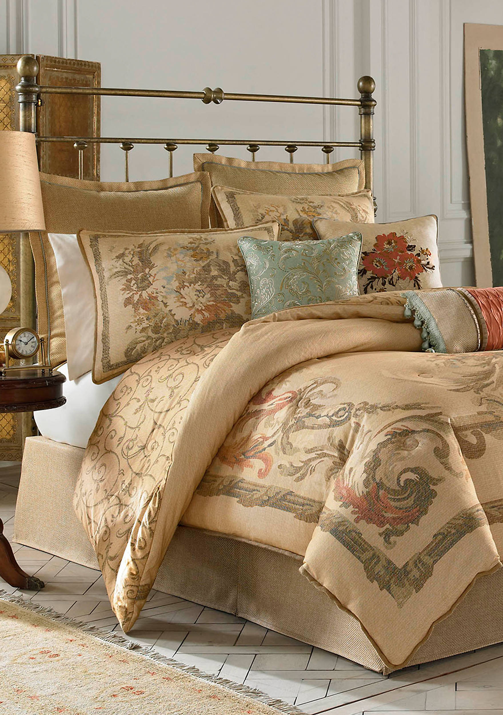 iris discontinued boscovs king normandy croscillter comforters bedding croscill at blue bed sale comforter dillards set outlet canada sets bath clearanceters bedroom collections