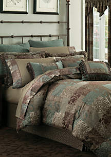 Galleria Bedding Collection-Chocolate