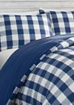 Lakehouse Plaid Cotton Duvet Cover Set