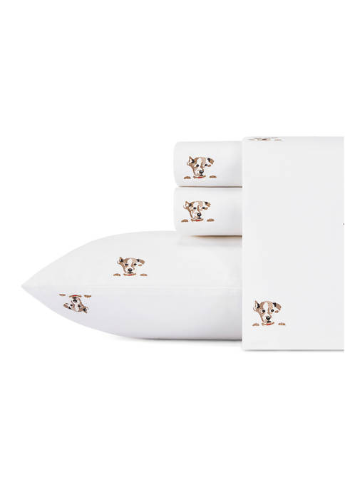 Ellen DeGeneres Augie Cotton Percale Sheet Set