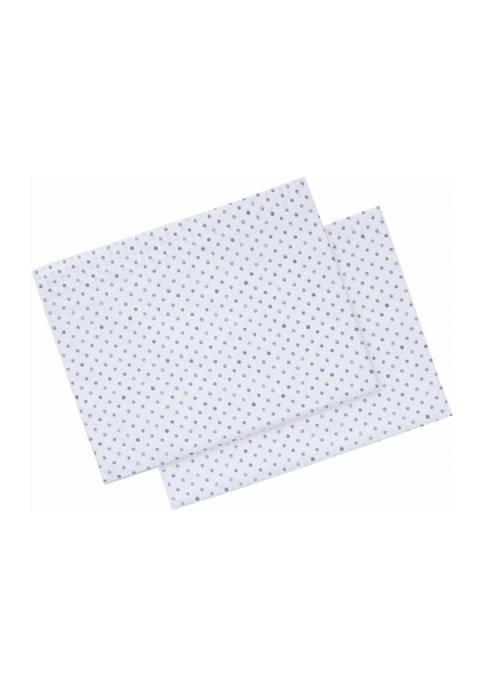 Ellen DeGeneres Watercolor Dots Cotton Pillowcase Set