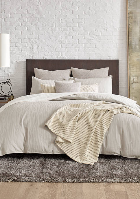 Kenneth Cole New York Lawrence Cotton Duvet Cover