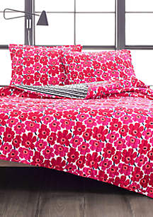 Marimekko Mini Unikko Quilt Set- Twin