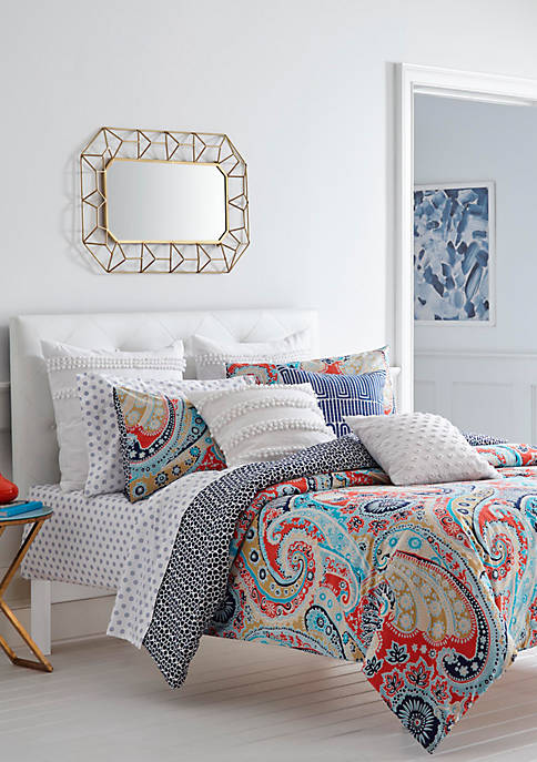 Mirage Paisley Comforter Set
