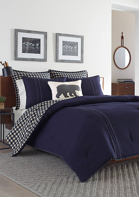 Eddie Bauer Kingston Duvet Cover Set