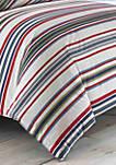 Brewster Stripe Duvet Cover Set