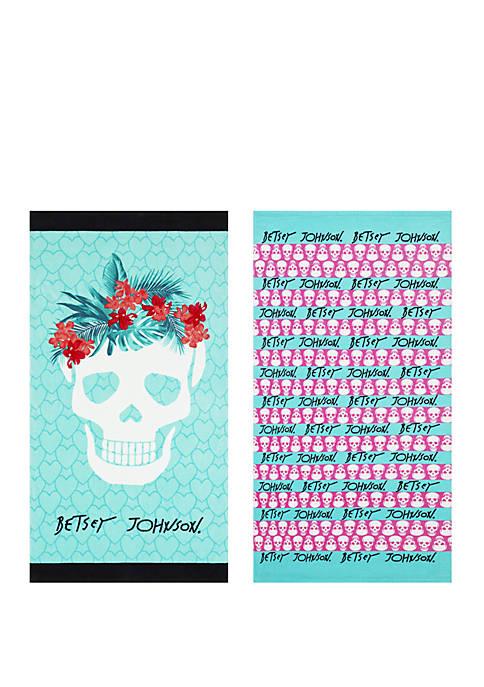 Fiesta Skull Beach Towel Set