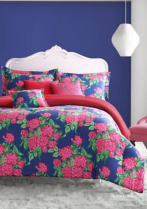Betsey Johnson Bountiful Bouquet Bedding Collection