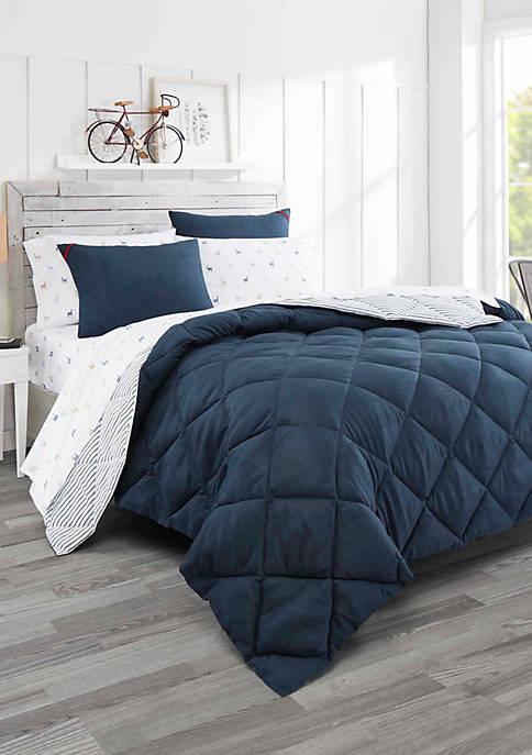 Crosby All-Cotton Comforter Set