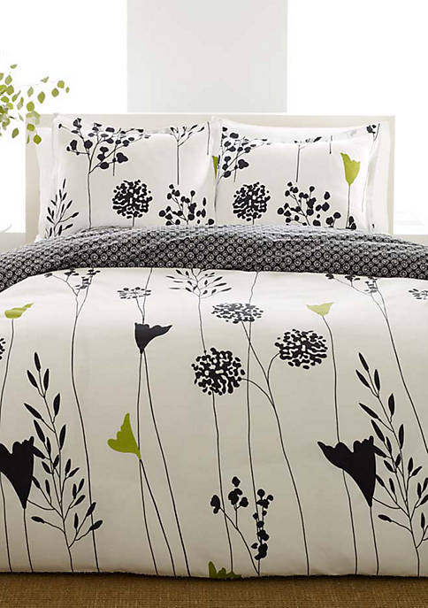 Asian Lily Comforter Set