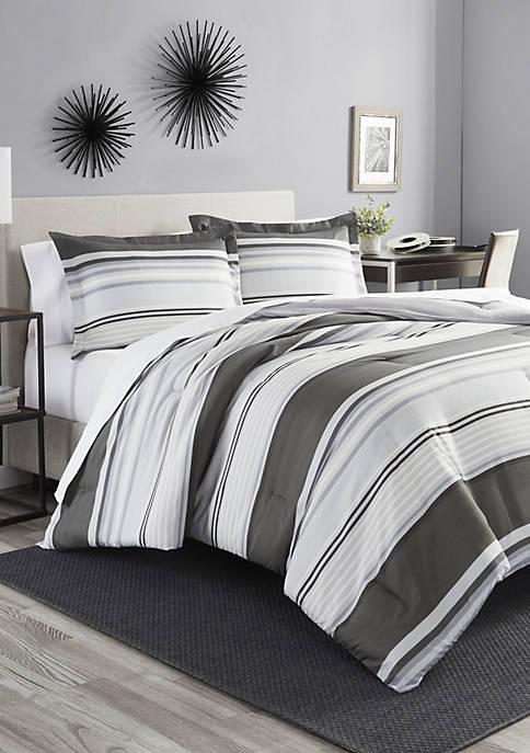Rowan Stripe Comforter Set