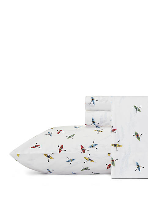 Eddie Bauer Kayaks Cotton Sheet Sets