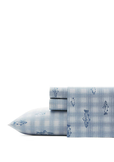 Eddie Bauer Methow Plaid Cotton Sheet Sets