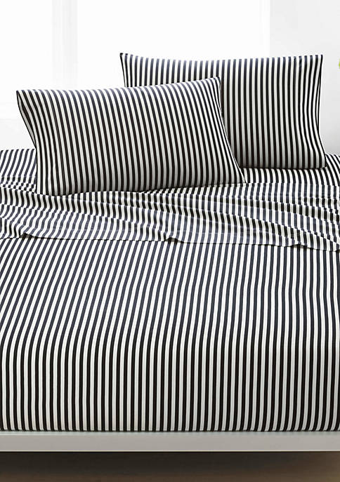 Marimekko Ajo Black 100% Cotton Sheet Set