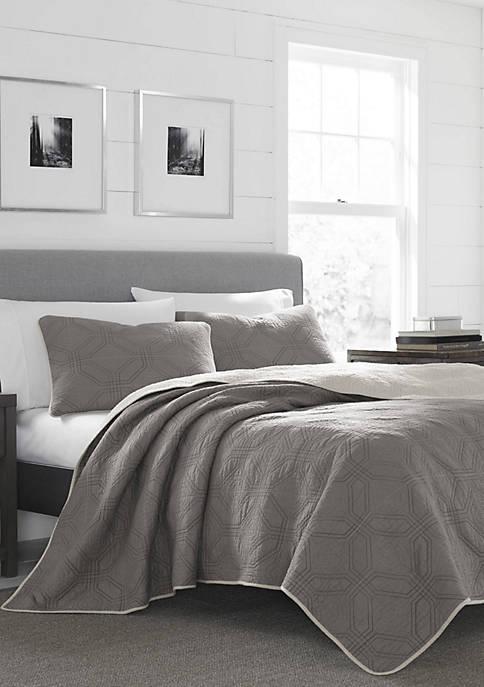 Eddie Bauer Axis Cotton Quilt Set