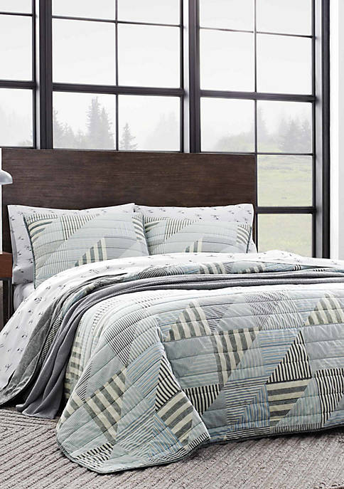 Eddie Bauer Cannon Beach Cotton Quilt Set