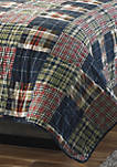 Madrona Plaid Cotton Quilt Set
