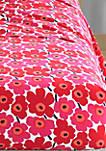 Mini Unikk Red 100% Cotton Sheet