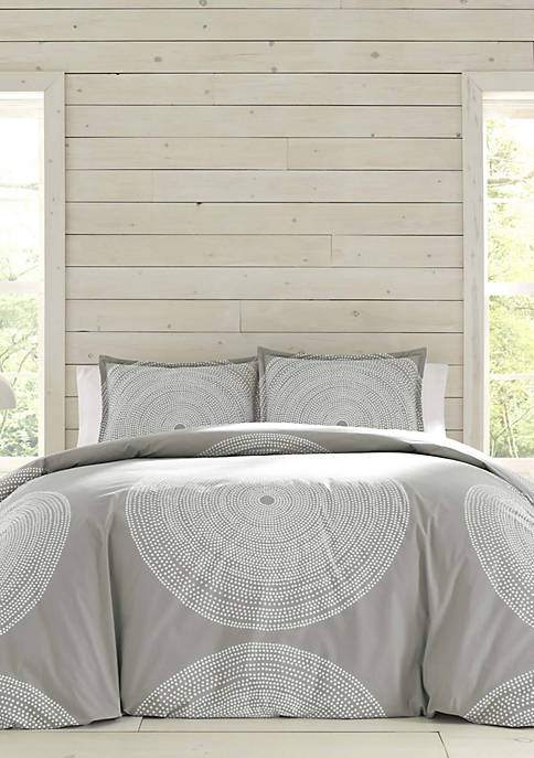 Marimekko Fokus Gray Comforter Set