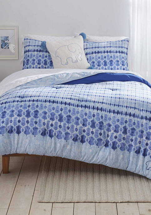 Ivory Ella Sadie Microfiber Comforter Sham Set