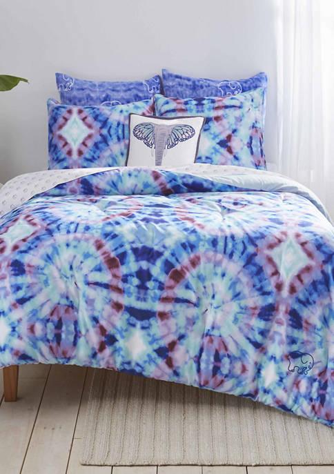 Ivory Ella Izzie Microfiber Comforter Sham Set